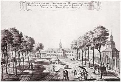 Lukisan Stadhuis Batavia