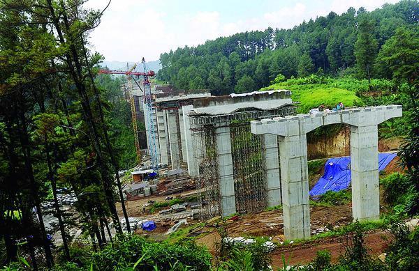 Konstruksi Tol Semarang-Solo