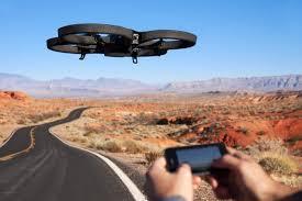 Drone dengan remote